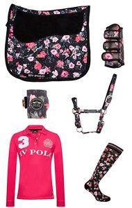 HV Polo Set Flower-Black 2017-18