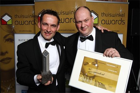 Thuiswinkel Awards 2011 Agradi