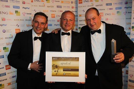 Thuiswinkel Awards 2012 Agradi