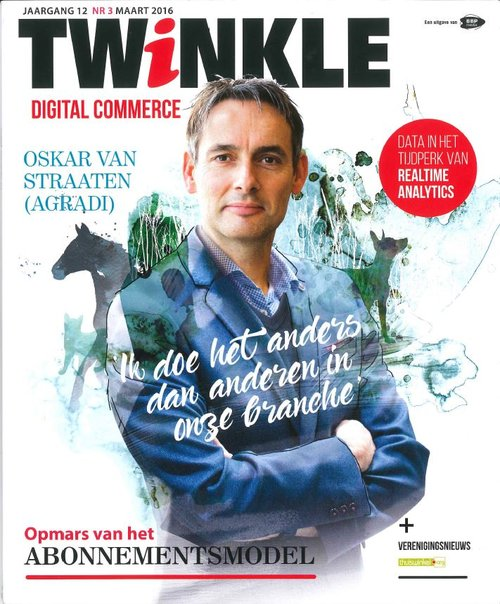 Foto Oskar van Straaten Cover Twinkle 2016