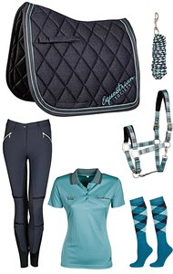 Harrys Horse Set Midnight Navy-Teal 2017