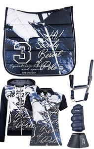 HV Polo Society Set Navy