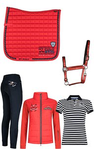 HV Polo Society Set Navy-Pepper