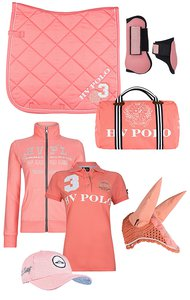 HV Polo Favouritas Set Coral Pink