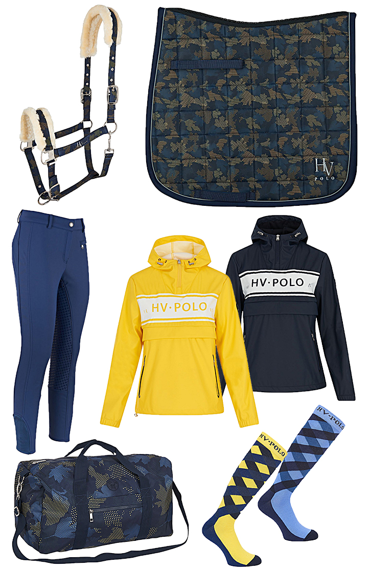 HV Polo Set Blue-Yellow Autumn 2018