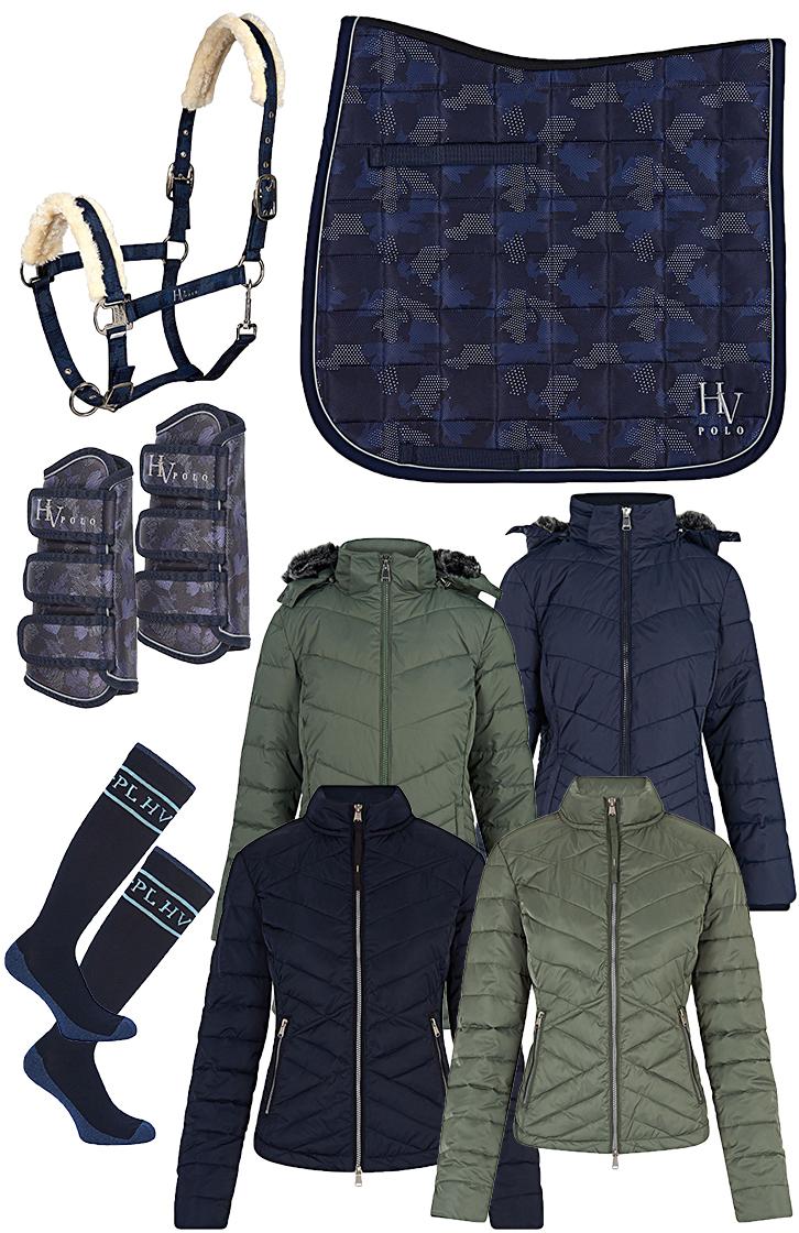 HV Polo Set Navy - Sage green Winter 2018