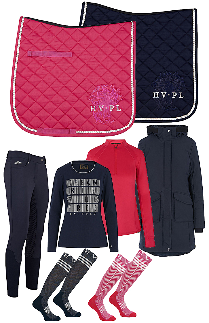 HV Polo Set Navy - Pink Winter 2018