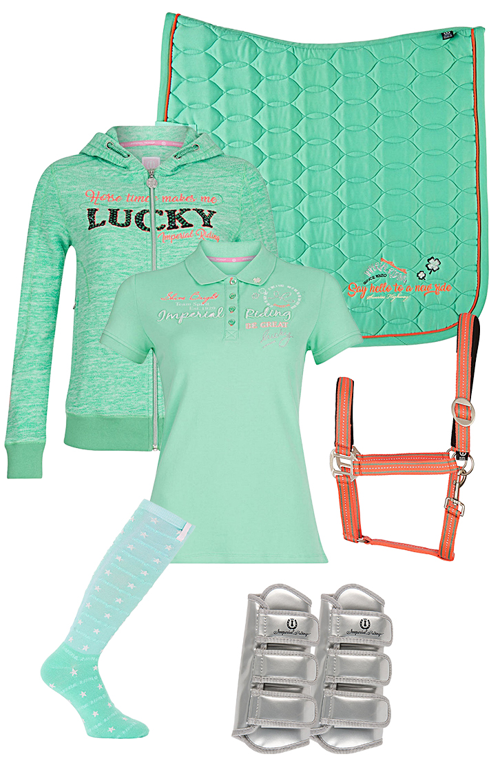 Imperial Riding Set Summer Green SS18